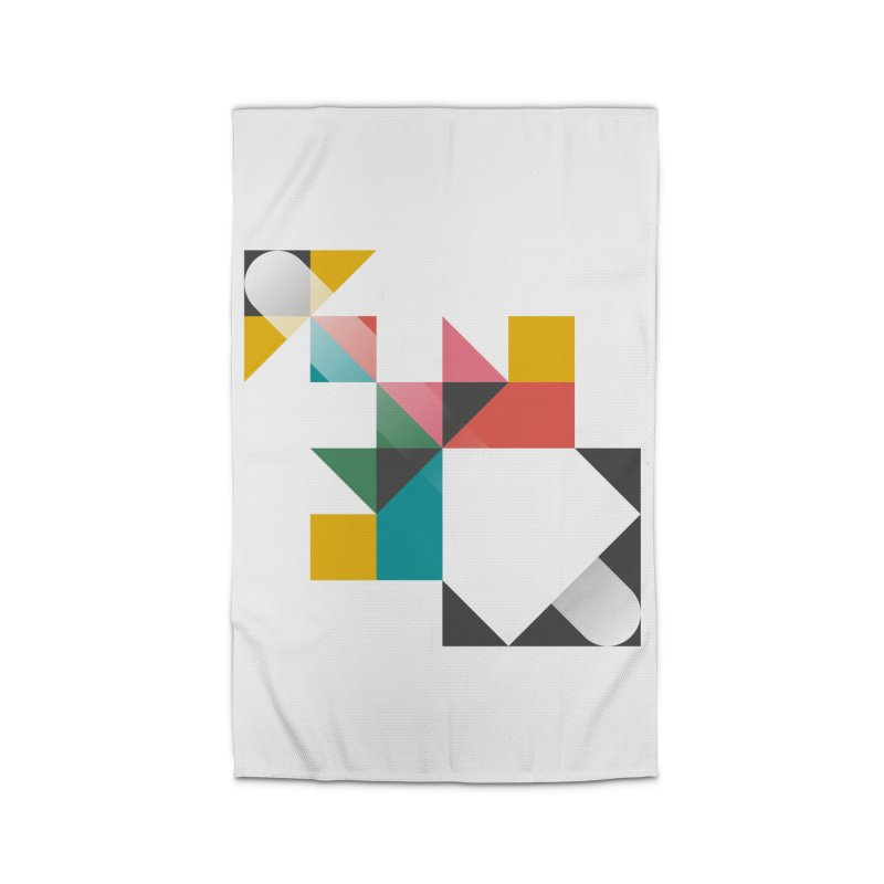Geometric Design Series 1.5, Poster 6 Home Rug by Madeleine Hettich Design & Illustration