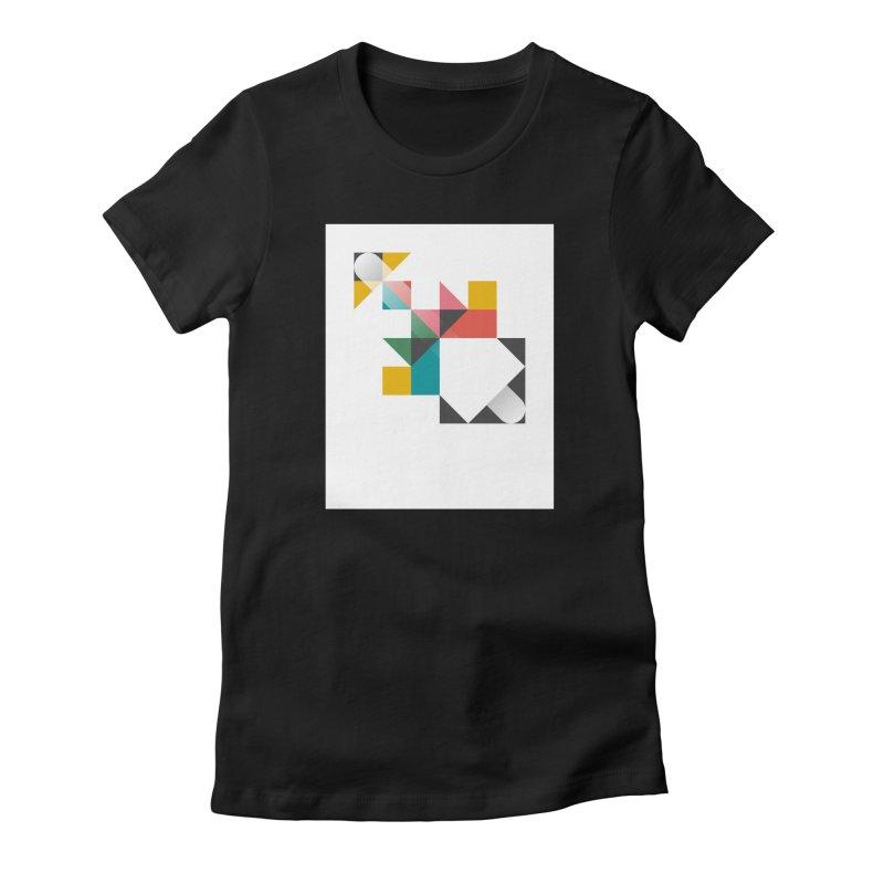 Geometric Design Series 1.5, Poster 6 Women's T-Shirt by Madeleine Hettich Design & Illustration
