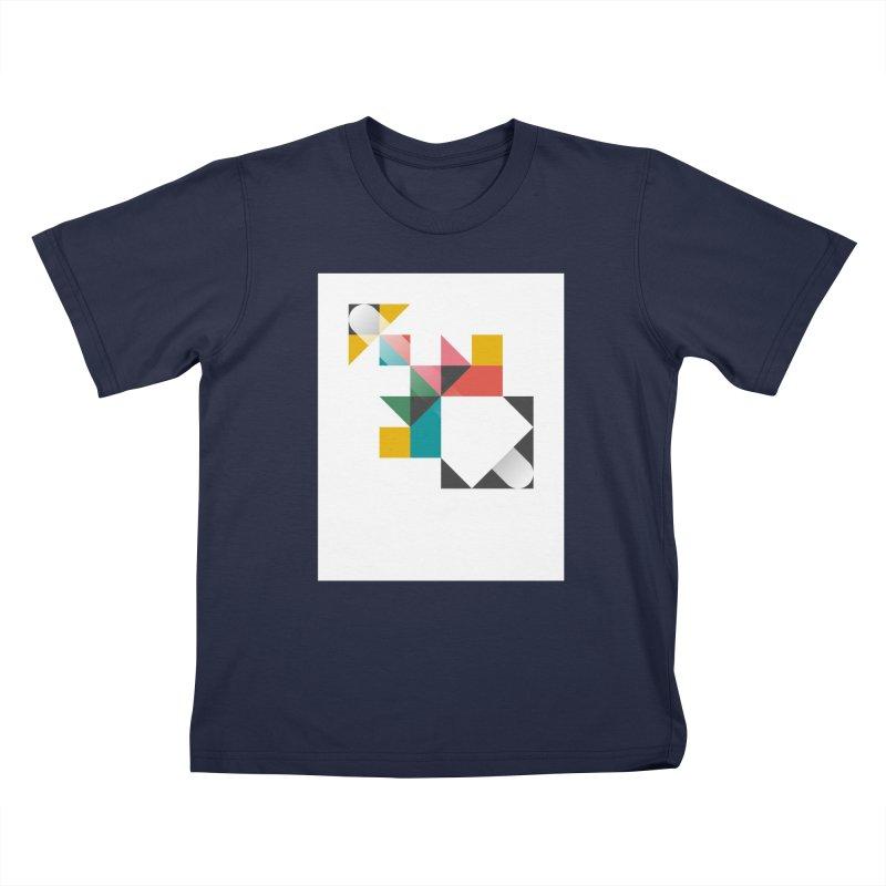 Geometric Design Series 1.5, Poster 6 Kids T-Shirt by Madeleine Hettich Design & Illustration