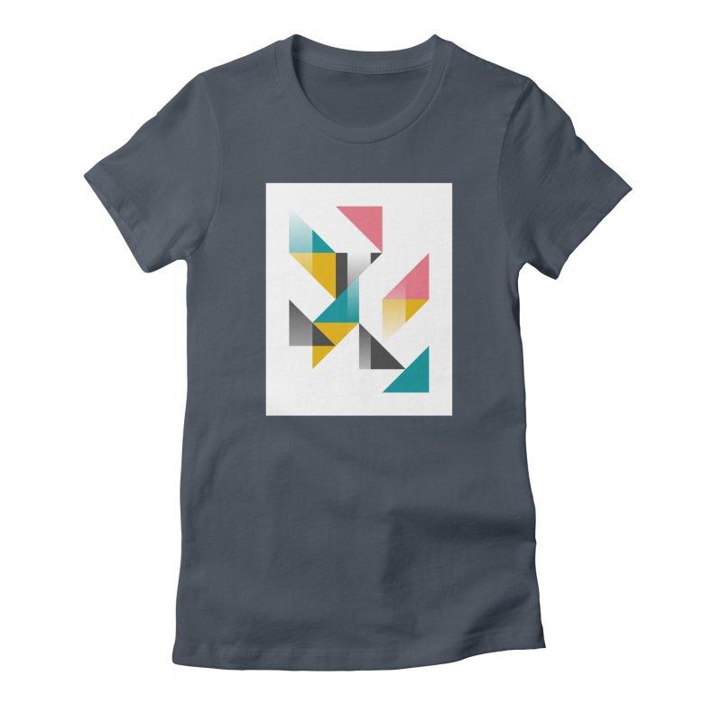Geometric Design Series 1.5, Poster 5 Women's T-Shirt by Madeleine Hettich Design & Illustration