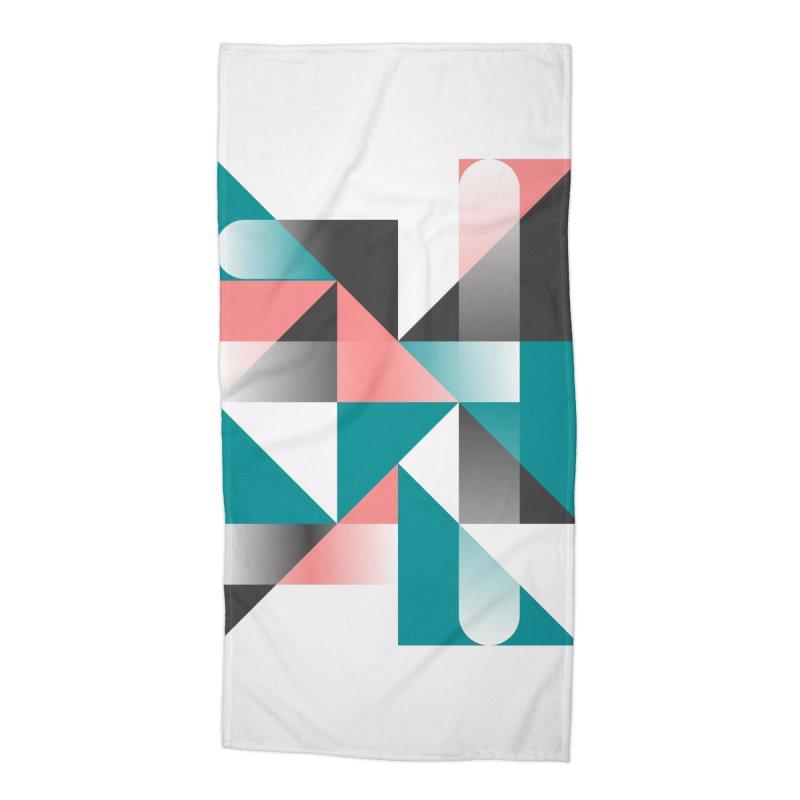 Geometric Design Series 1.5, Poster 4 Accessories Beach Towel by Madeleine Hettich Design & Illustration