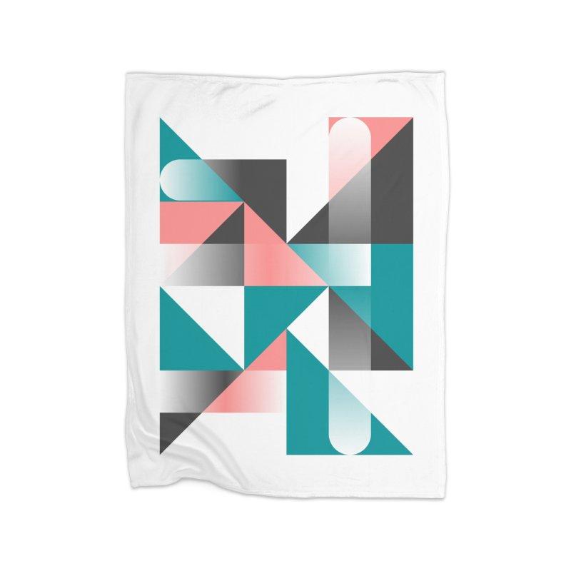 Geometric Design Series 1.5, Poster 4 Home Blanket by Madeleine Hettich Design & Illustration