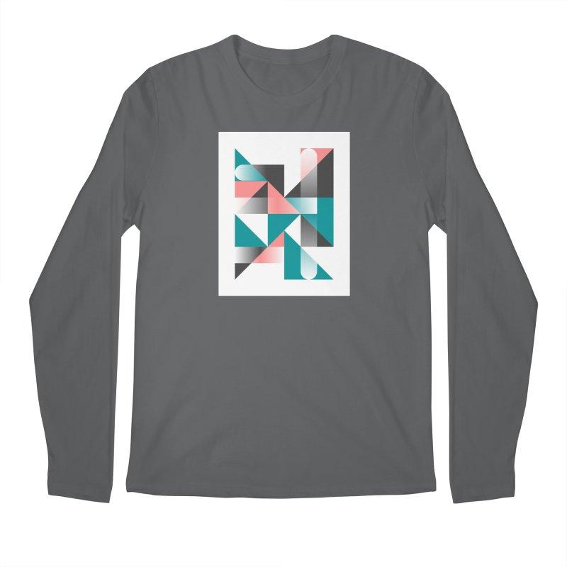 Geometric Design Series 1.5, Poster 4 Men's Longsleeve T-Shirt by Madeleine Hettich Design & Illustration