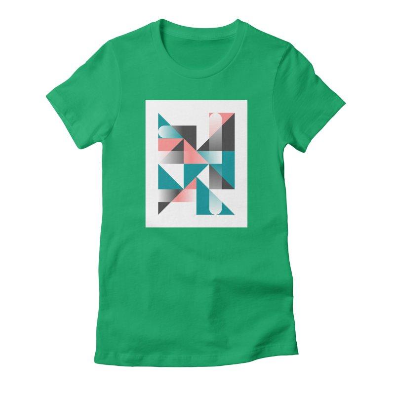 Geometric Design Series 1.5, Poster 4 Women's T-Shirt by Madeleine Hettich Design & Illustration