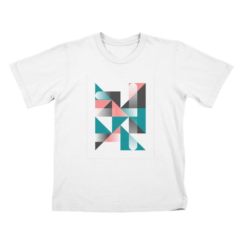 Geometric Design Series 1.5, Poster 4 Kids T-Shirt by Madeleine Hettich Design & Illustration