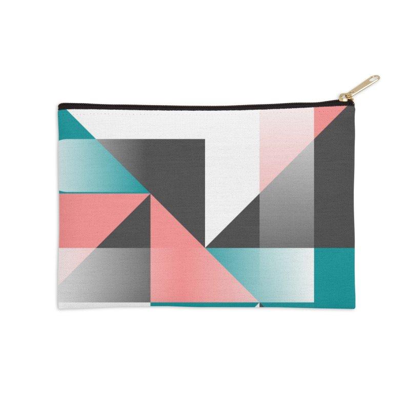 Geometric Design Series 1.5, Poster 4 Accessories Zip Pouch by Madeleine Hettich Design & Illustration