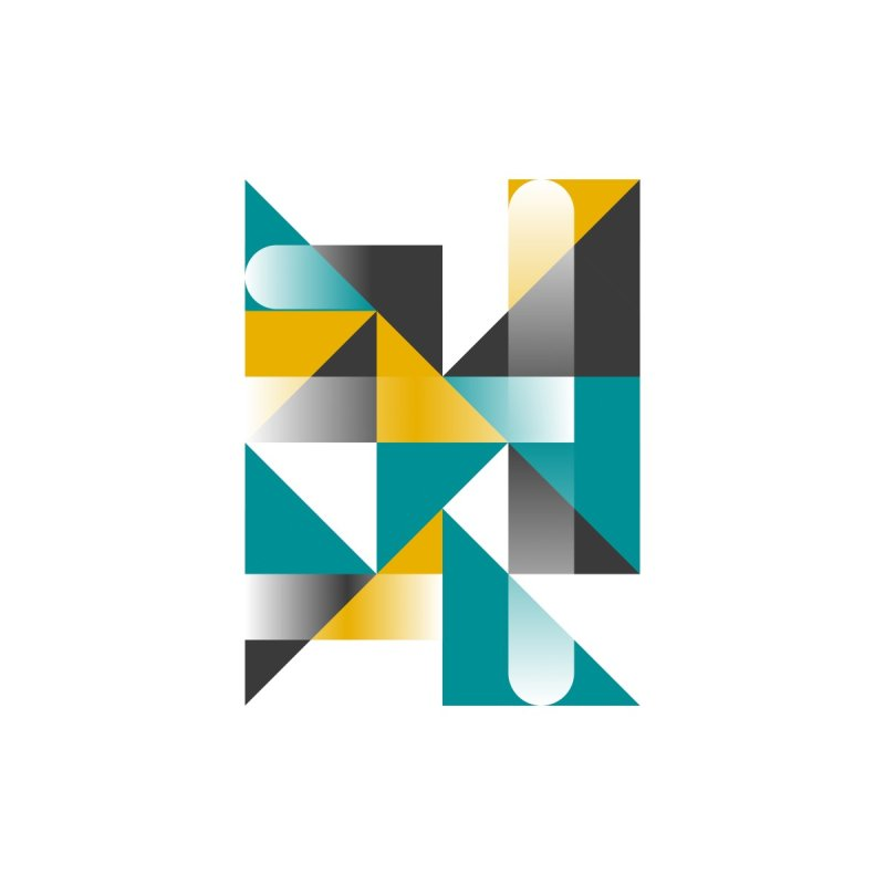 Geometric Design Series 1.5, Poster 3 Kids Pullover Hoody by Madeleine Hettich Design & Illustration