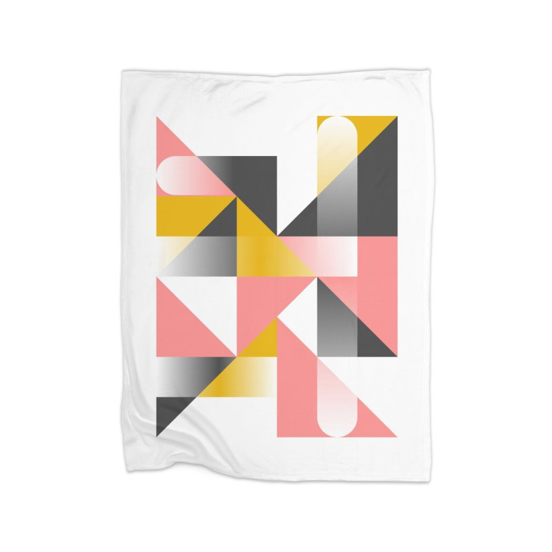 Geometric Design Series 1.5, Poster 2 Home Blanket by Madeleine Hettich Design & Illustration