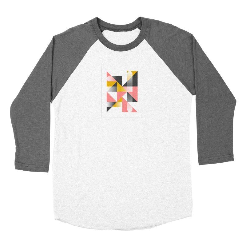 Geometric Design Series 1.5, Poster 2 Women's Longsleeve T-Shirt by Madeleine Hettich Design & Illustration