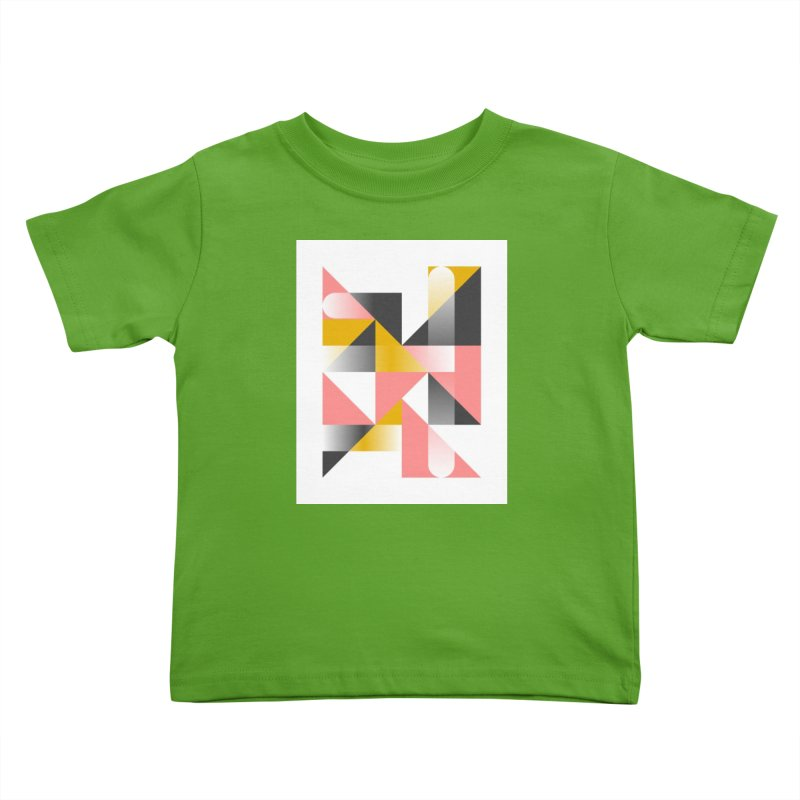 Geometric Design Series 1.5, Poster 2 Kids Toddler T-Shirt by Madeleine Hettich Design & Illustration
