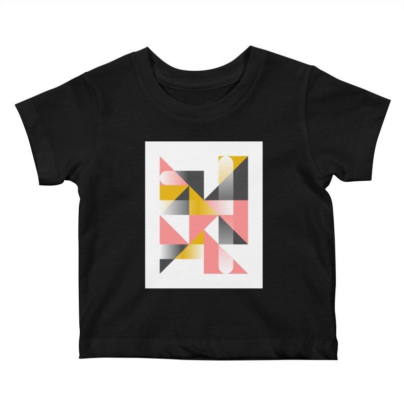 Geometric Design Series 1.5, Poster 2 Kids Baby T-Shirt by Madeleine Hettich Design & Illustration