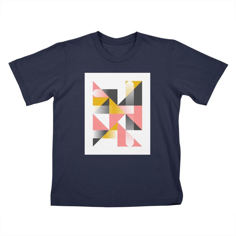 Geometric Design Series 1.5, Poster 2 Kids T-Shirt by Madeleine Hettich Design & Illustration