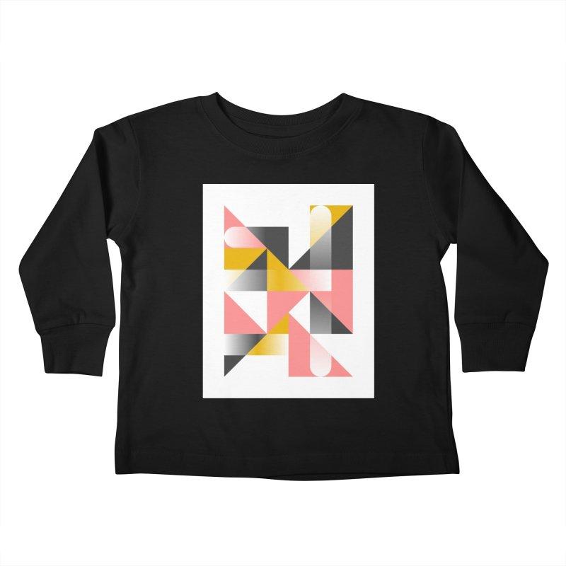 Geometric Design Series 1.5, Poster 2 Kids Toddler Longsleeve T-Shirt by Madeleine Hettich Design & Illustration