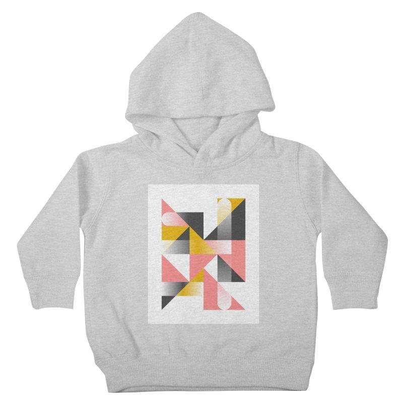 Geometric Design Series 1.5, Poster 2 Kids Toddler Pullover Hoody by Madeleine Hettich Design & Illustration