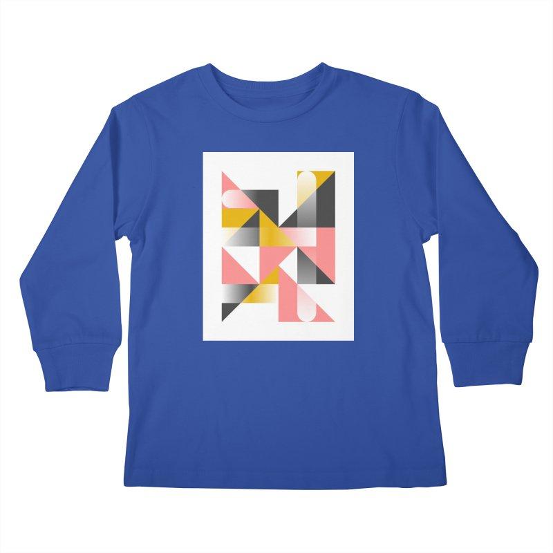 Geometric Design Series 1.5, Poster 2 Kids Longsleeve T-Shirt by Madeleine Hettich Design & Illustration