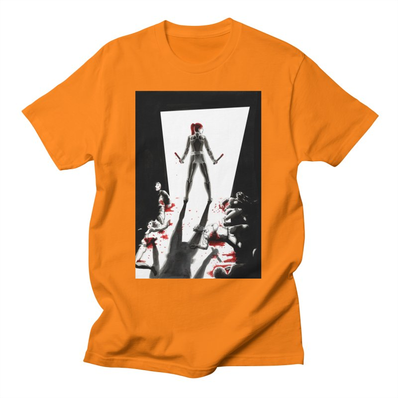 Black Widow Fan Illustration 2 Men's T-Shirt by Madeleine Hettich Design & Illustration
