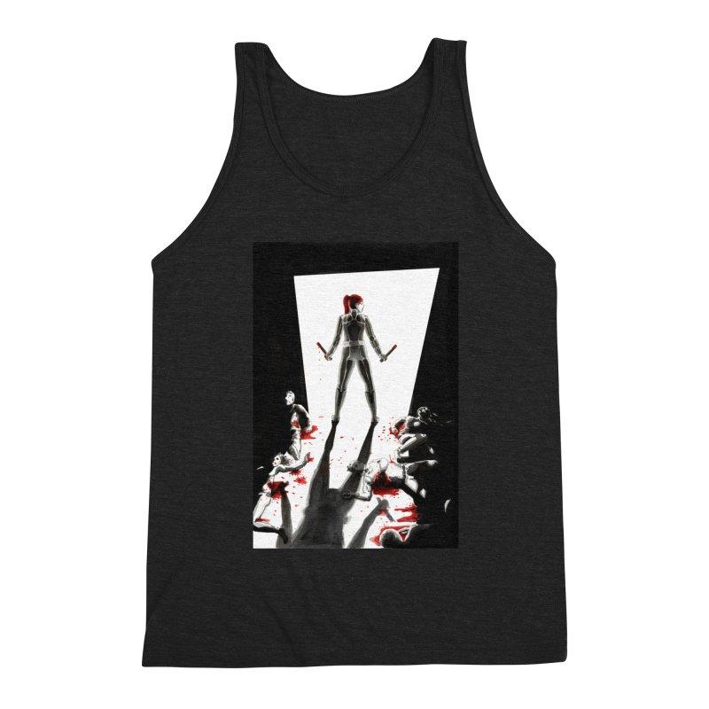Black Widow Fan Illustration 2 Men's Tank by Madeleine Hettich Design & Illustration