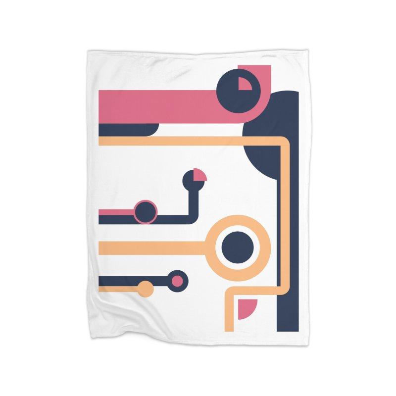 Geometric Design Series 3, Poster 4 Home Blanket by Madeleine Hettich Design & Illustration