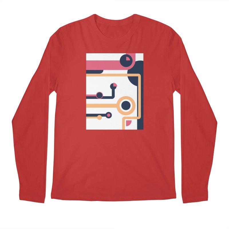 Geometric Design Series 3, Poster 4 Men's Longsleeve T-Shirt by Madeleine Hettich Design & Illustration