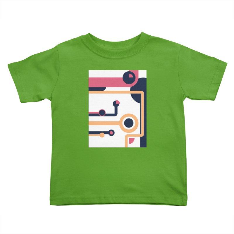 Geometric Design Series 3, Poster 4 Kids Toddler T-Shirt by Madeleine Hettich Design & Illustration