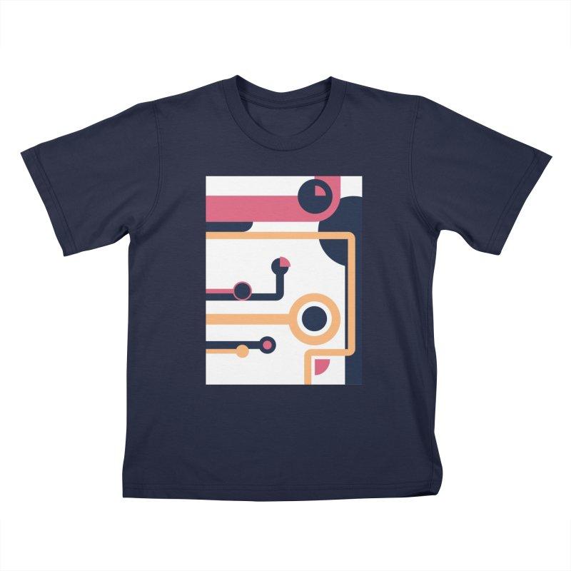 Geometric Design Series 3, Poster 4 Kids T-Shirt by Madeleine Hettich Design & Illustration