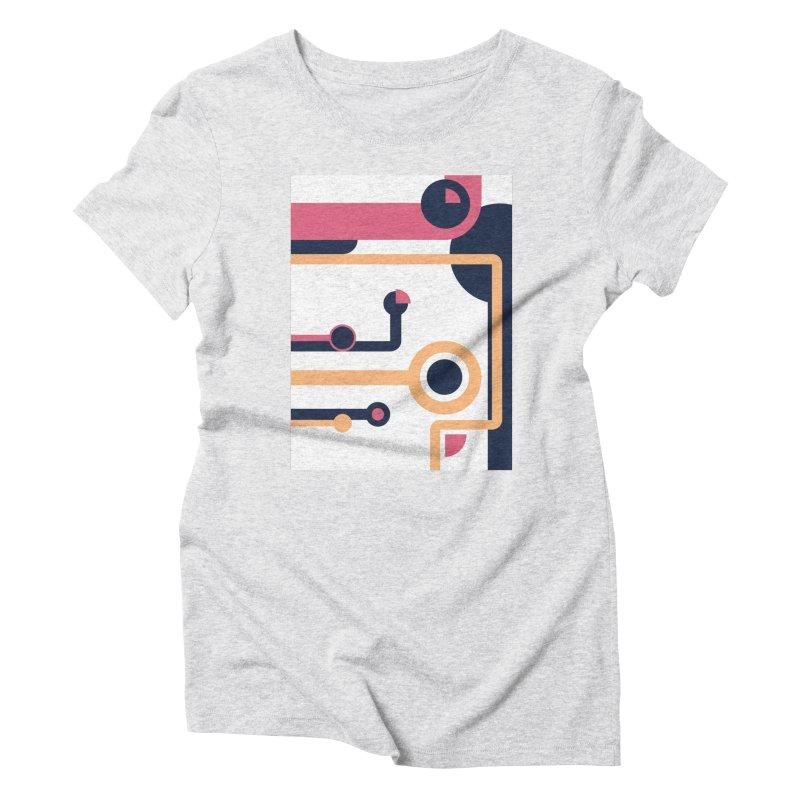 Geometric Design Series 3, Poster 4 Women's T-Shirt by Madeleine Hettich Design & Illustration