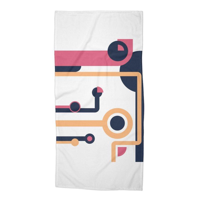 Geometric Design Series 3, Poster 4 Accessories Beach Towel by Madeleine Hettich Design & Illustration