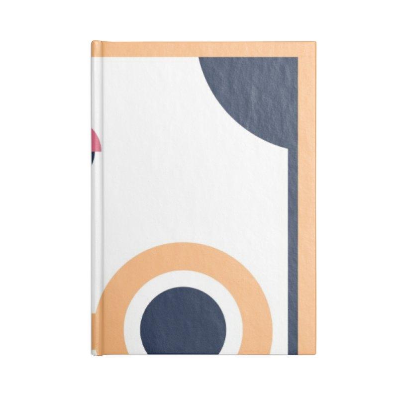 Geometric Design Series 3, Poster 4 Accessories Blank Journal Notebook by Madeleine Hettich Design & Illustration