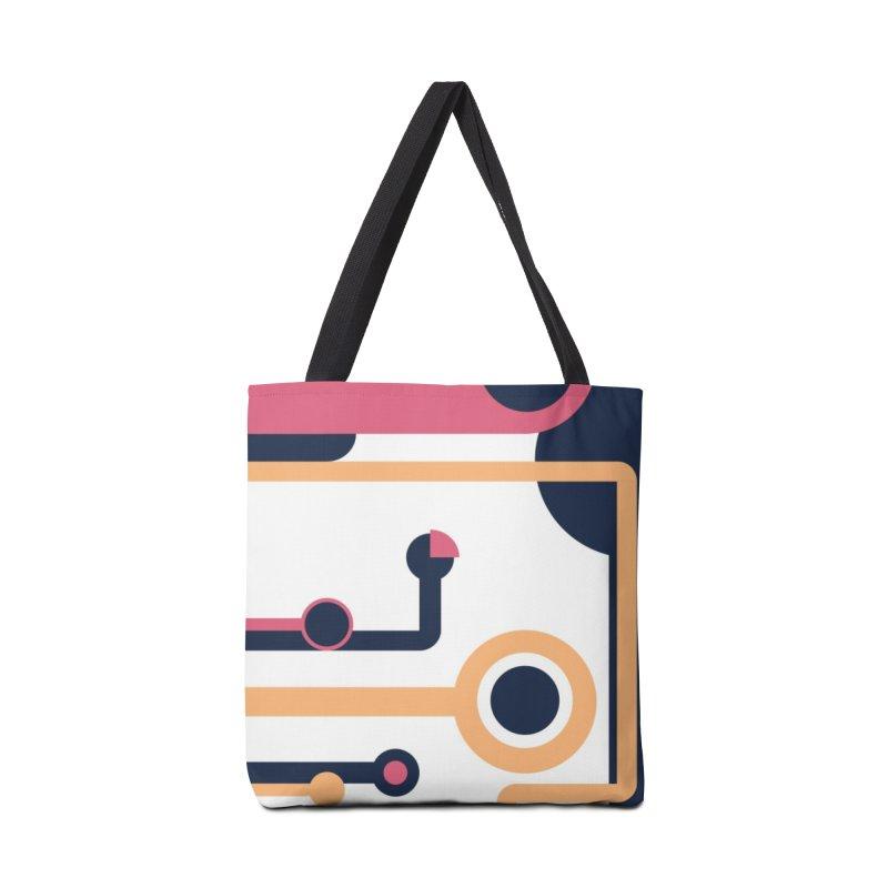 Geometric Design Series 3, Poster 4 Accessories Bag by Madeleine Hettich Design & Illustration