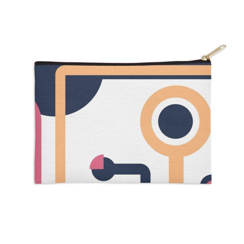 Geometric Design Series 3, Poster 4 Accessories Zip Pouch by Madeleine Hettich Design & Illustration