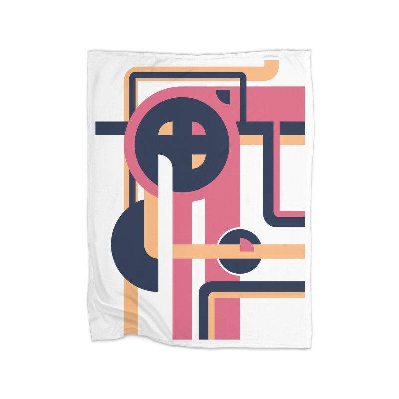 Geometric Design Series 3, Poster 3 Home Blanket by Madeleine Hettich Design & Illustration