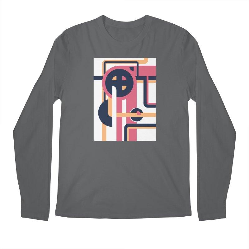 Geometric Design Series 3, Poster 3 Men's Longsleeve T-Shirt by Madeleine Hettich Design & Illustration