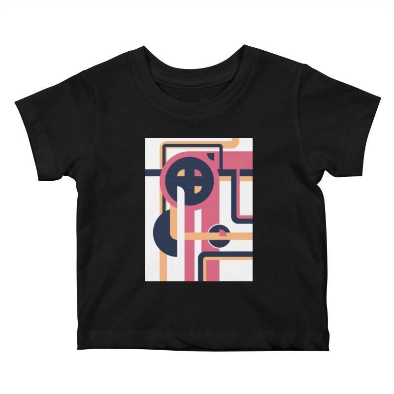 Geometric Design Series 3, Poster 3 Kids Baby T-Shirt by Madeleine Hettich Design & Illustration