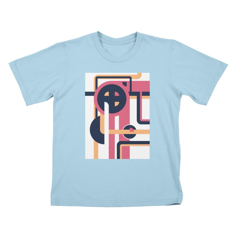 Geometric Design Series 3, Poster 3 Kids T-Shirt by Madeleine Hettich Design & Illustration