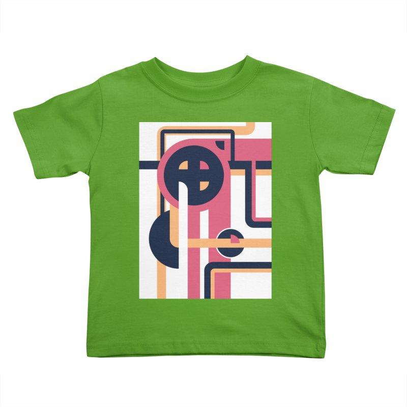 Geometric Design Series 3, Poster 3 Kids Toddler T-Shirt by Madeleine Hettich Design & Illustration