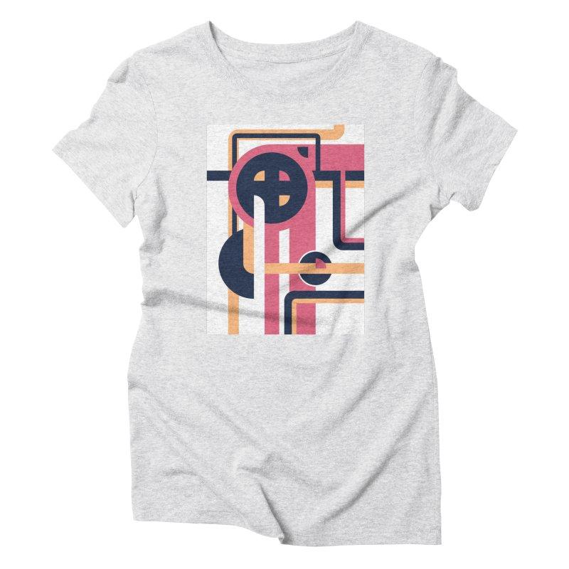 Geometric Design Series 3, Poster 3 Women's T-Shirt by Madeleine Hettich Design & Illustration