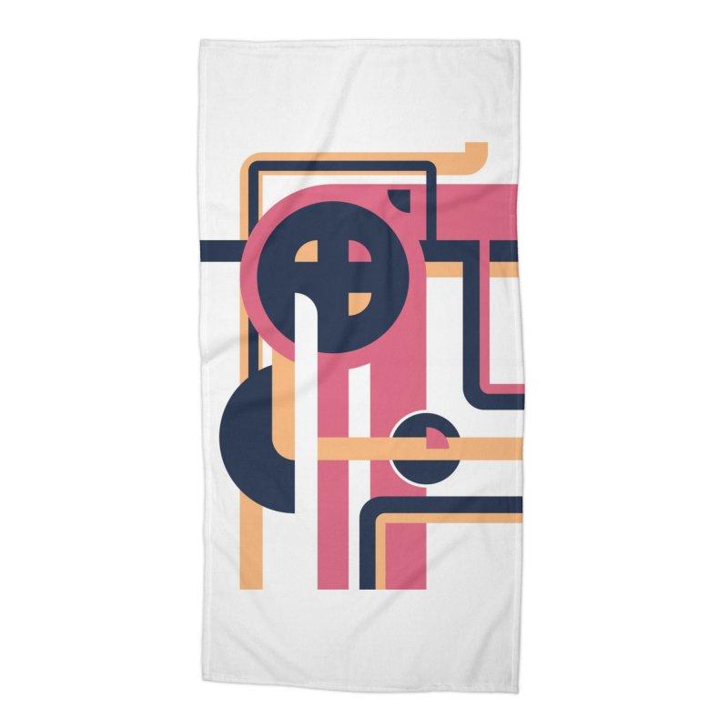 Geometric Design Series 3, Poster 3 Accessories Beach Towel by Madeleine Hettich Design & Illustration