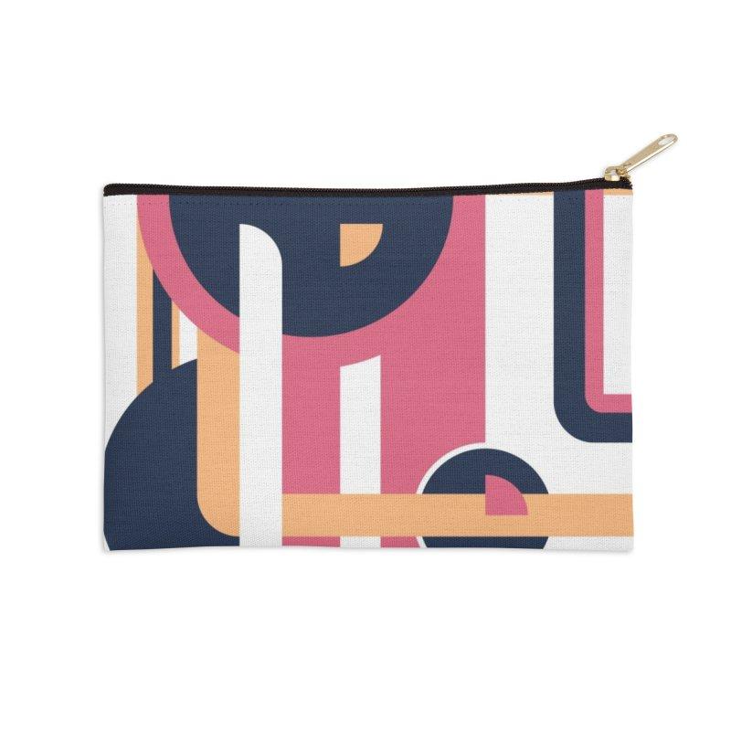 Geometric Design Series 3, Poster 3 Accessories Zip Pouch by Madeleine Hettich Design & Illustration