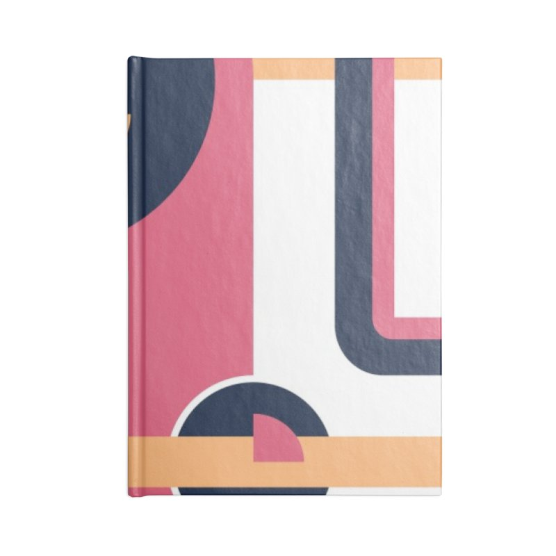 Geometric Design Series 3, Poster 3 Accessories Blank Journal Notebook by Madeleine Hettich Design & Illustration