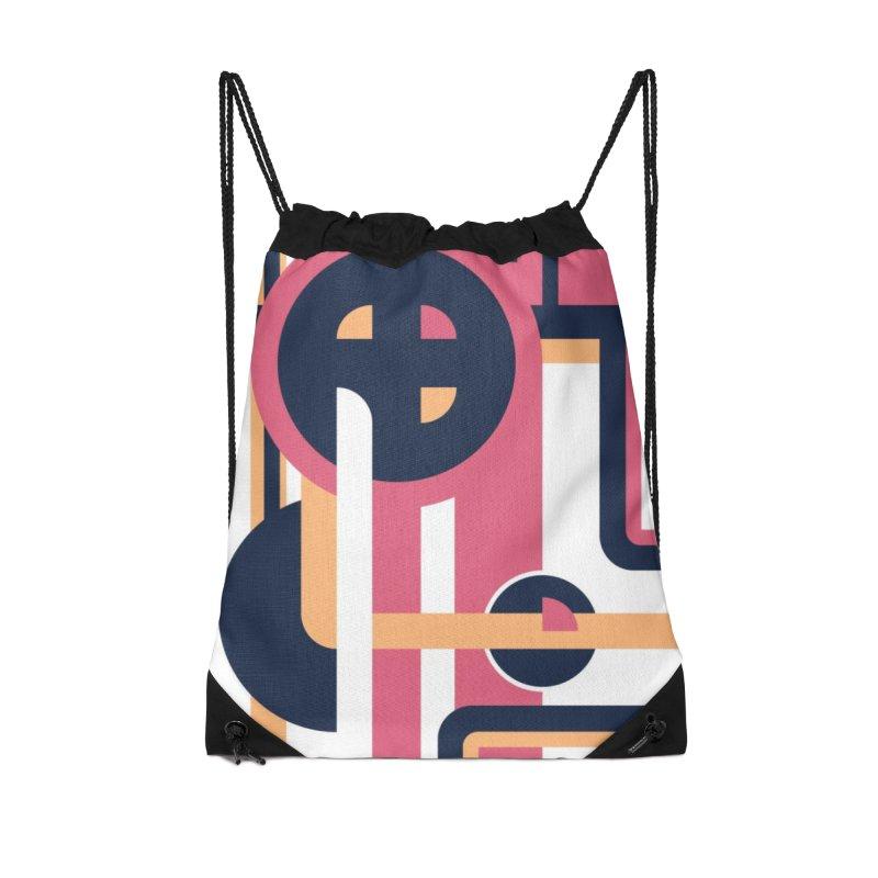 Geometric Design Series 3, Poster 3 Accessories Bag by Madeleine Hettich Design & Illustration