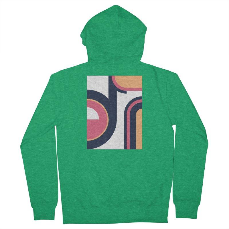 Geometric Design Series 3, Poster 2 Men's Zip-Up Hoody by Madeleine Hettich Design & Illustration
