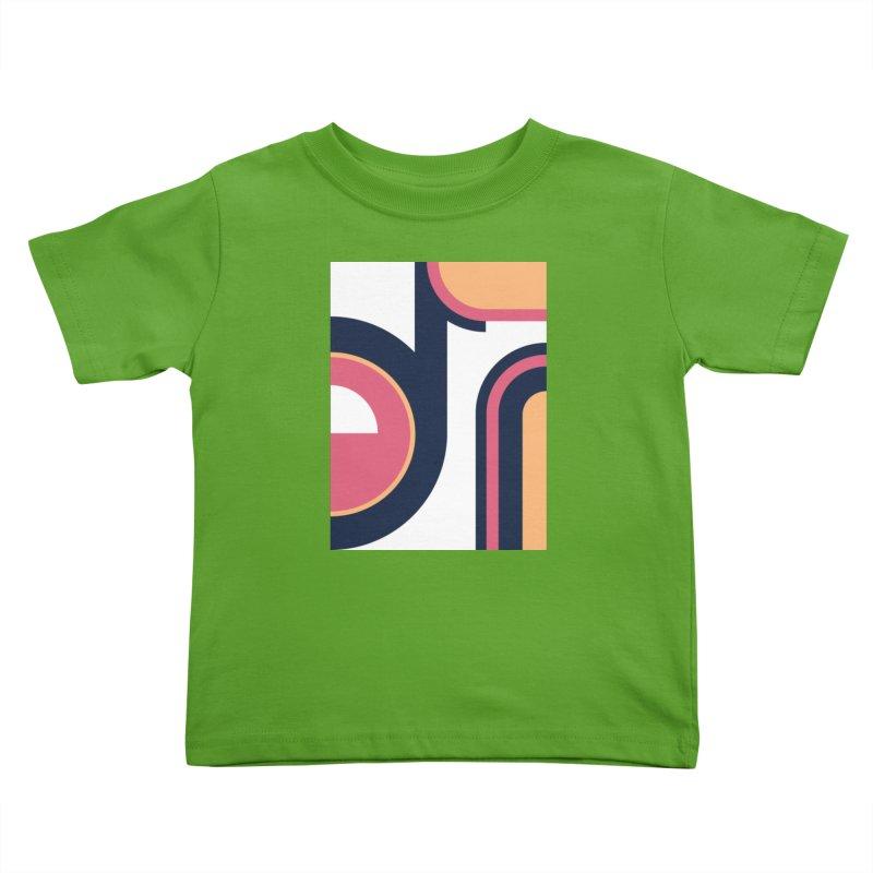 Geometric Design Series 3, Poster 2 Kids Toddler T-Shirt by Madeleine Hettich Design & Illustration