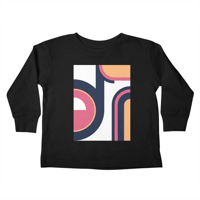 Geometric Design Series 3, Poster 2 Kids Toddler Longsleeve T-Shirt by Madeleine Hettich Design & Illustration