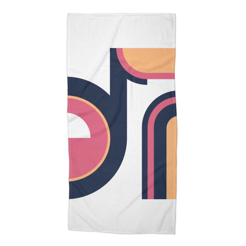 Geometric Design Series 3, Poster 2 Accessories Beach Towel by Madeleine Hettich Design & Illustration