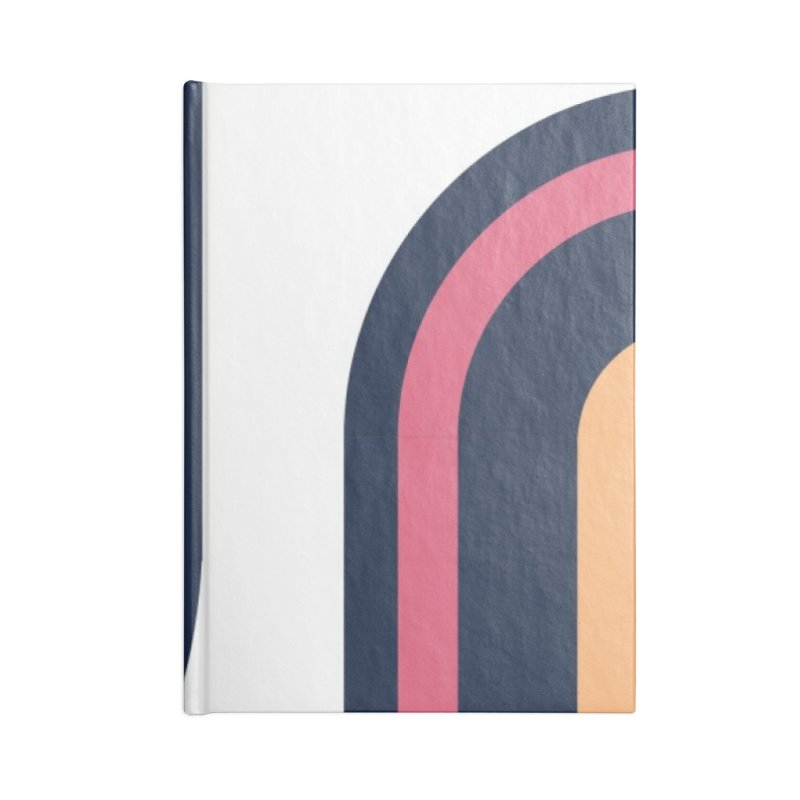 Geometric Design Series 3, Poster 2 Accessories Blank Journal Notebook by Madeleine Hettich Design & Illustration