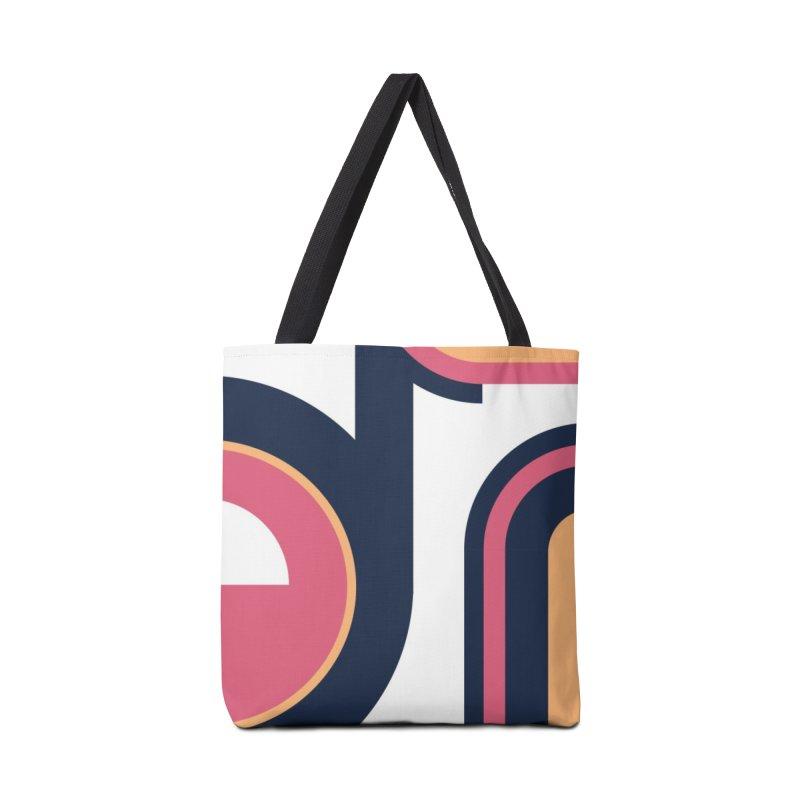 Geometric Design Series 3, Poster 2 Accessories Bag by Madeleine Hettich Design & Illustration
