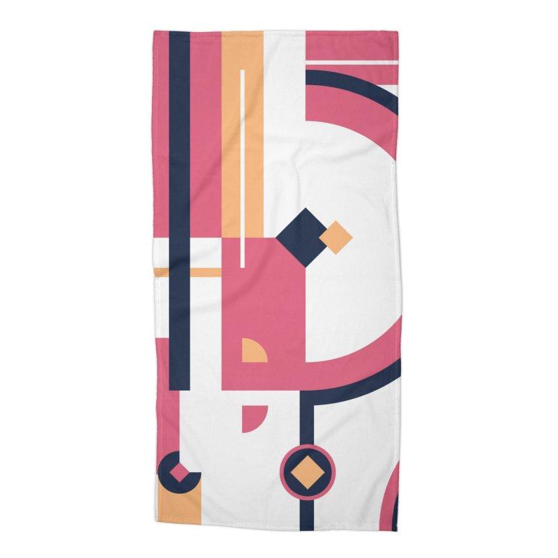 Geometric Design Series 3, Poster 1 Accessories Beach Towel by Madeleine Hettich Design & Illustration