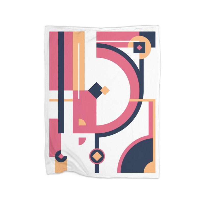 Geometric Design Series 3, Poster 1 Home Blanket by Madeleine Hettich Design & Illustration