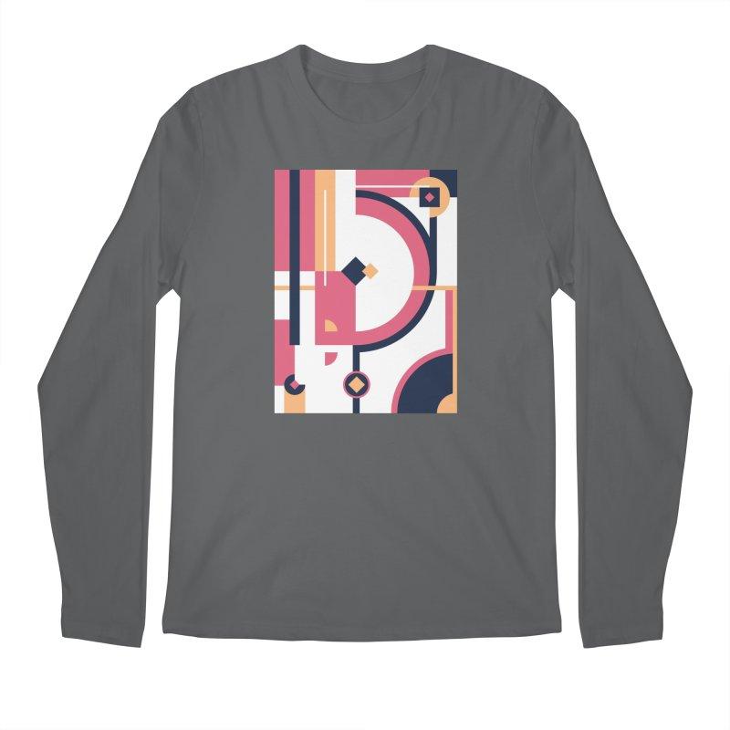 Geometric Design Series 3, Poster 1 Men's Longsleeve T-Shirt by Madeleine Hettich Design & Illustration