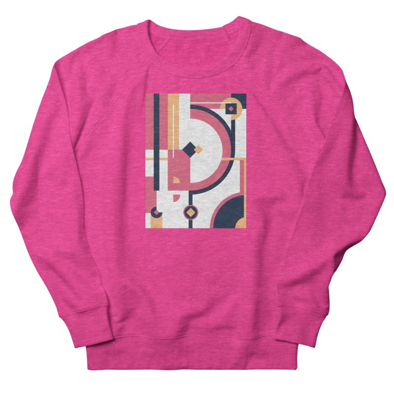 Geometric Design Series 3, Poster 1 Women's Sweatshirt by Madeleine Hettich Design & Illustration